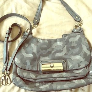 Small Coach shoulder bag with long strap